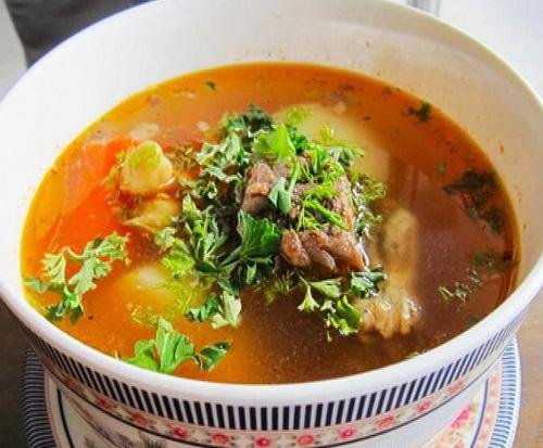 Восточный суп шурпа   Кулинарные рецепты / Very-stylish