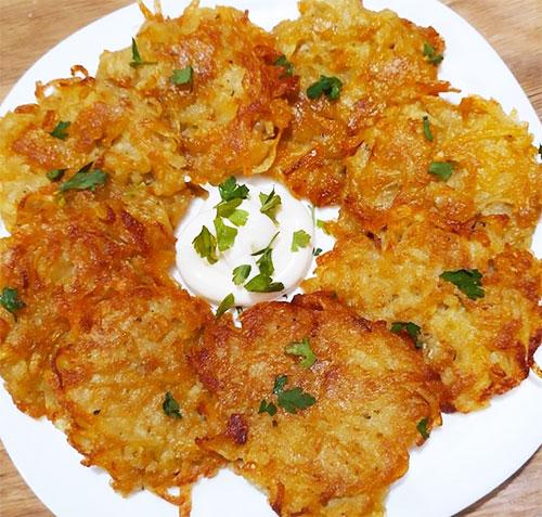Картофельные драники | Кулинарные рецепты / Very-stylish