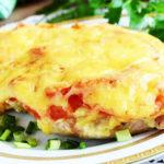Свинина, запеченная с помидорами и сыром   Кулинарные рецепты / Very-stylish