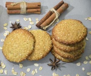 Овсяное печенье с кунжутом | Кулинарные рецепты / Very-stylish
