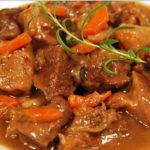 Тушеная говядина с морковью и луком | Кулинарные рецепты / Very-stylish