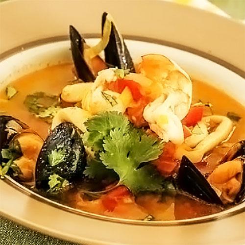Французский суп «Буйабес»