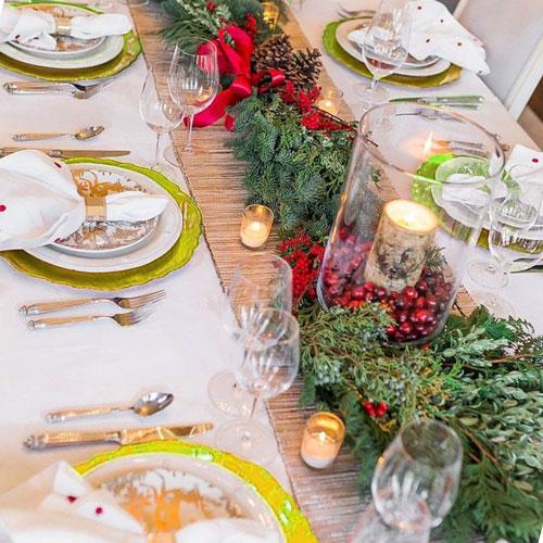 Украшение новогоднего стола 2021 | Кулинарные рецепты / Very-stylish
