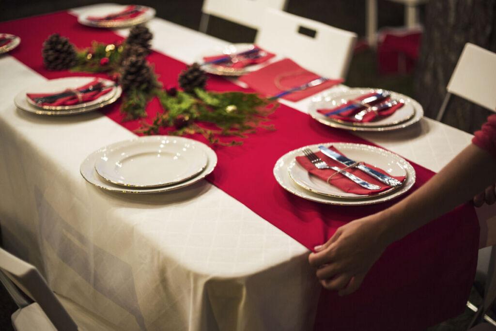 Какую скатерть выбрать на новый год | Кулинарные рецепты / Very-stylish