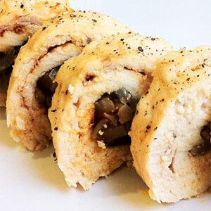 Куриные рулетики с грибами | Кулинарные рецепты / Very-stylish