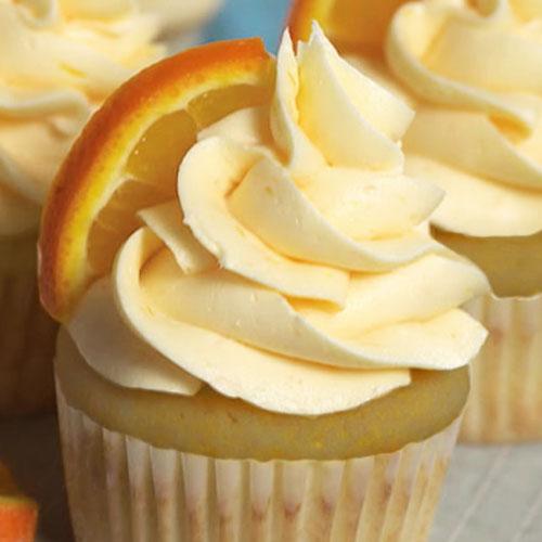 Мини-кексы «Апельсиновая мечта»