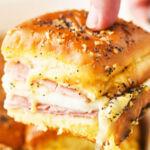Сэндвичи с ветчиной и сыром
