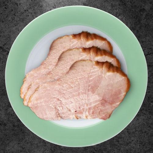 Свиной окорок в медово-горчичной глазури